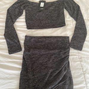 2 piece skirt set